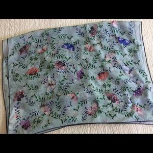 HOST 🌸 PICK NWT Furla silk scarf w/butterflies